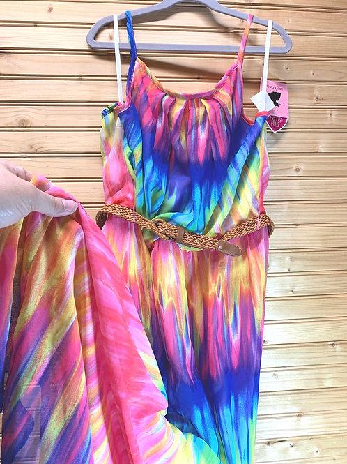 Size 16.5 AMY'S CLOSET NWT Color Maxi Dress