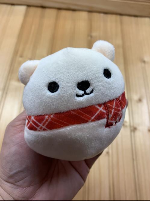 Plush Polar Bear Ball