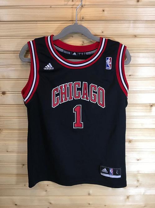 Size 7 Kids ADIDAS Chicago Bulls Rose 1 Basketball Jersey
