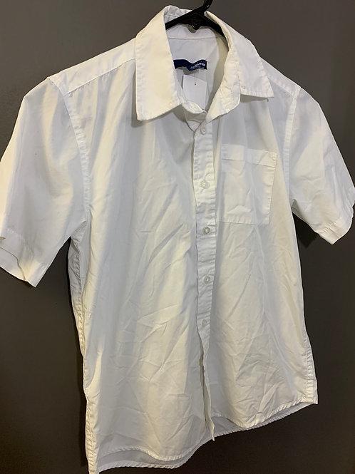 Size 10/12 White Short Sleeve Shirt