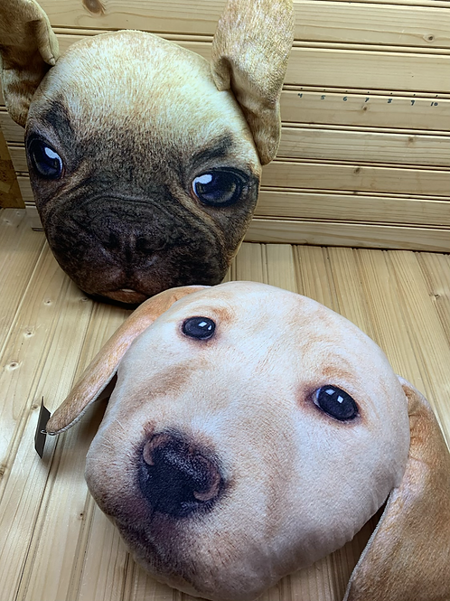 Plush Pillow Puppy Faces, Used