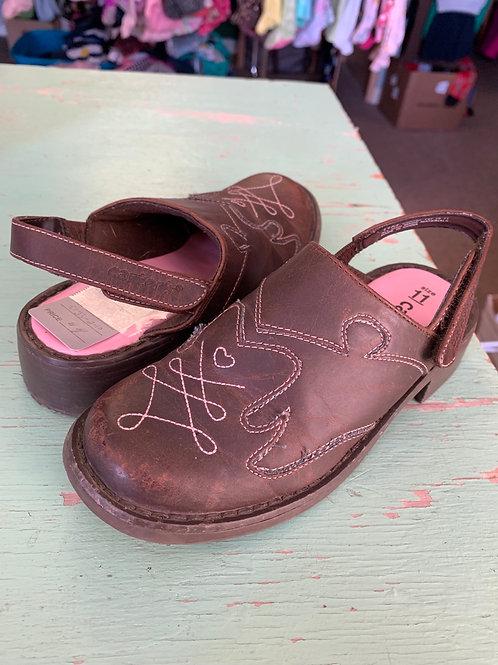 Size 11 Kids CARTER'S Brown Clog