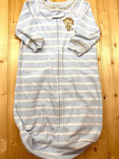Size 0-9m CARTER'S Monkey Fleece Sleep Sack