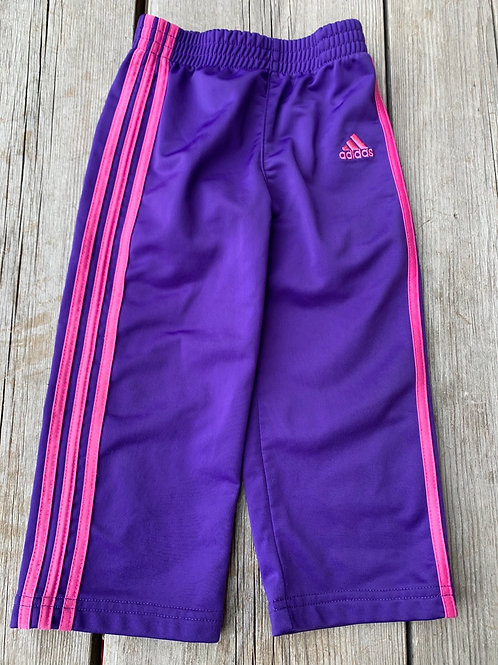Size 24m ADIDAS Purple and Pink Sport Pants