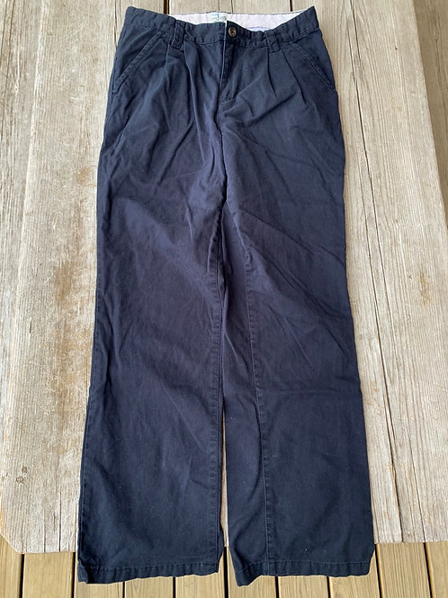 Size 14 CHILDREN'S PLACE Black Cotton Pants