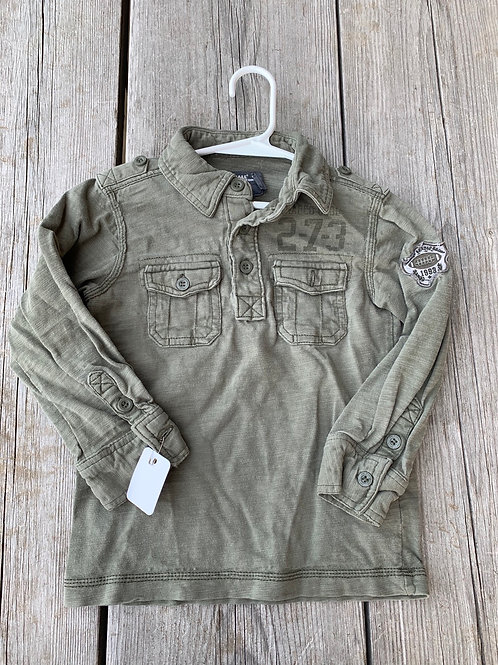 Size 2-4yr LOGG Army Style Shirt