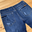 Size 12 Girls Distressed Cropped Jeans back