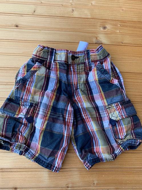 Size 4 Brown Plaid Shorts