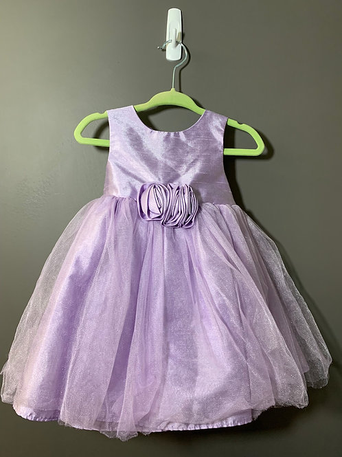 Size 12m MARMELLATA CLASSICS Lavender Shimmer Party Dress