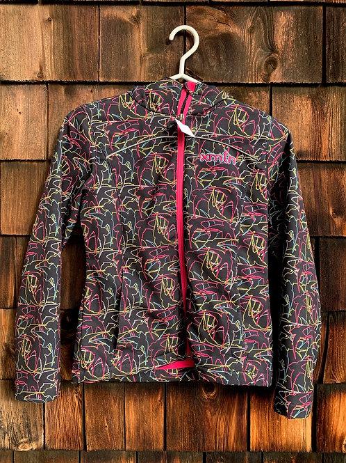Size 10/12 Youth XMTN Black Birds Shell Jacket