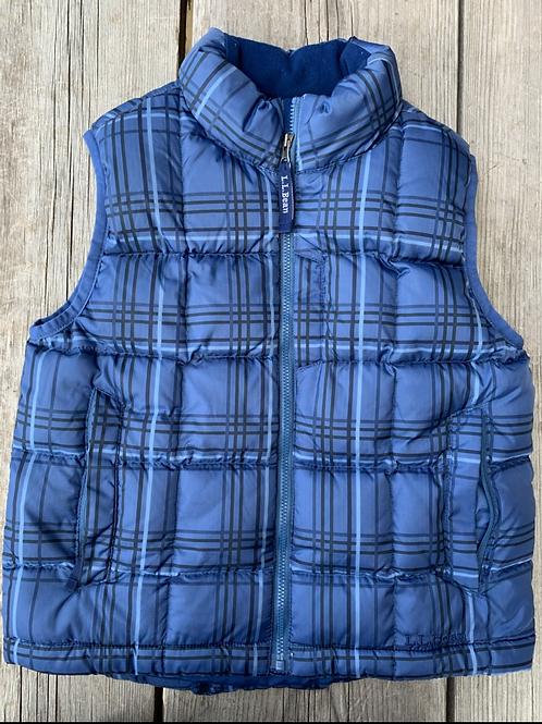 Size 5/6 LL BEAN Blue Puff Vest