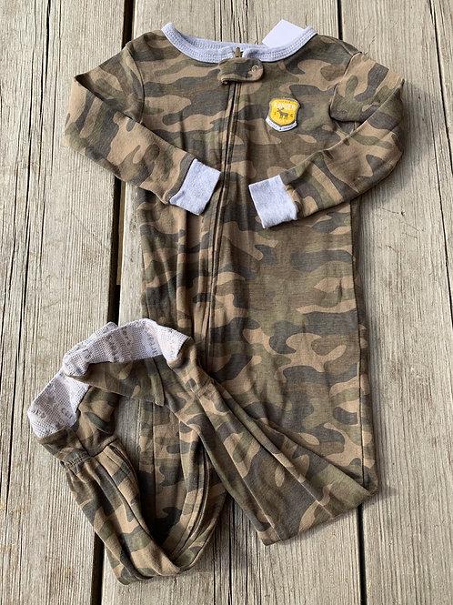 Size 24m Camo Cotton PJ