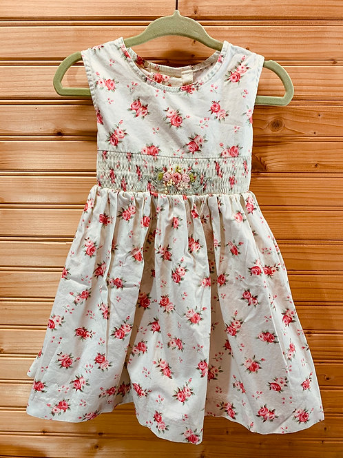 Size 2T GOOD LAD Floral Dress, Used
