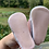 Size NB Soft Pink Bunny Shoes bottom