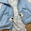 Size 3m CARTER'S 3pc Bear Outfit