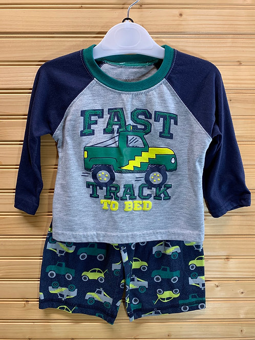 Size 18m CARTER'S Fast Track 2pc Pj, Used