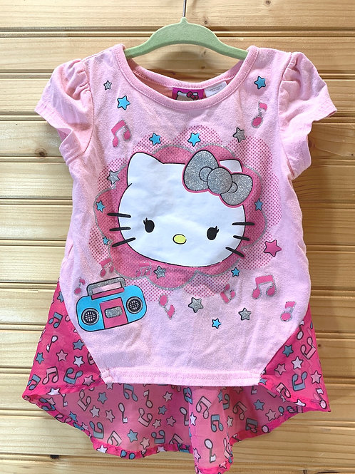 Size 2T HELLO KITTY Pink Top