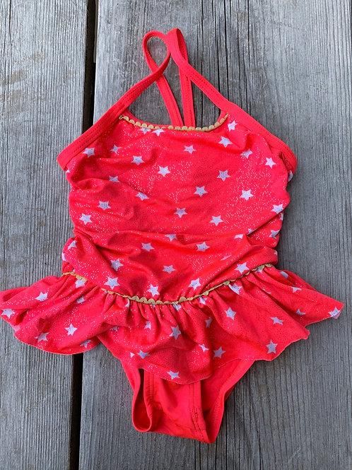 Size 18m Hot Pink Glitter Star Swimsuit