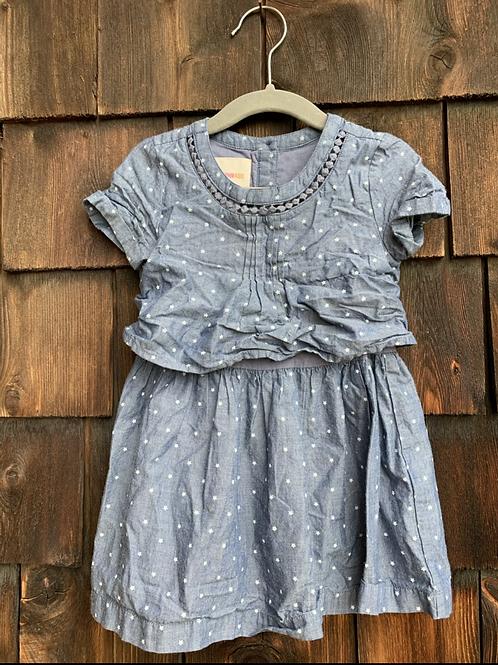Size 2T Chambray Dress