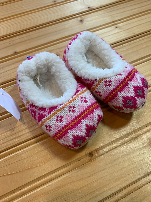 Size 3-6m Pink Slippers