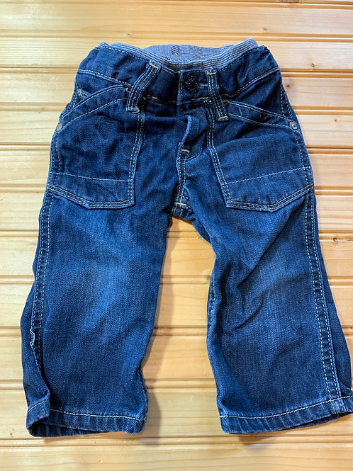 Size 6-12m BABY GAP Jeans, Used