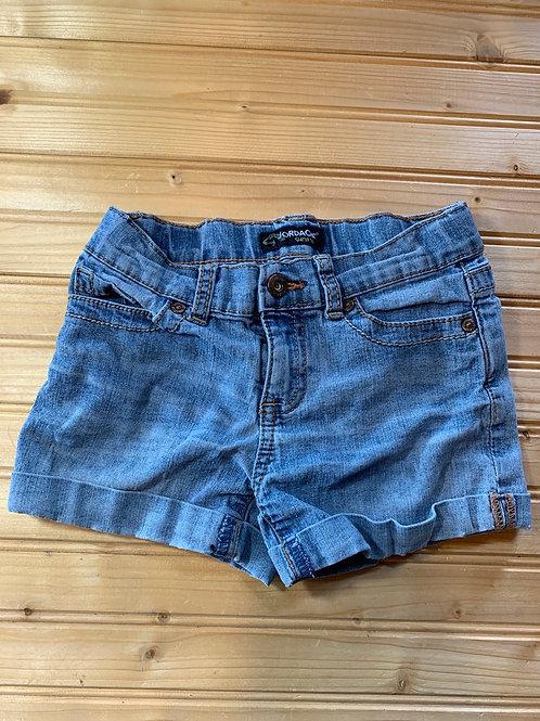 Size 6x Kids JORDACHE Jean Shorts, Used