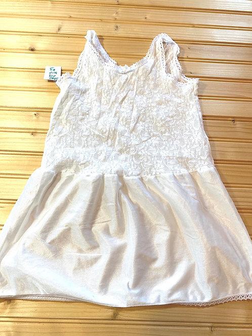 Size 6/7 White Lace Slip