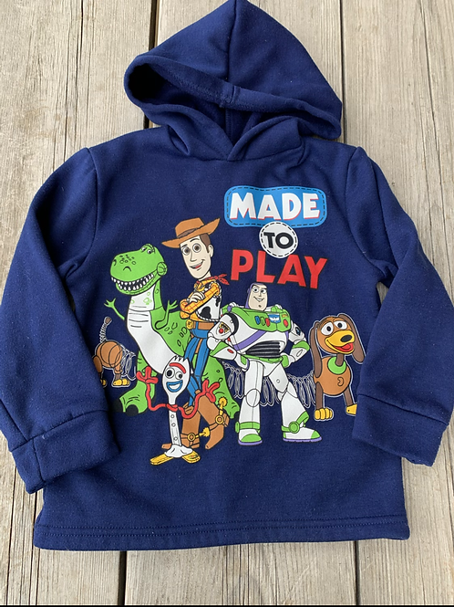 Size 6 Blue TOY STORY Hoodie