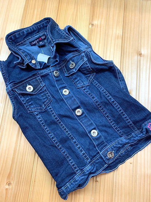 Size 6x LIMITED TOO Jean Vest