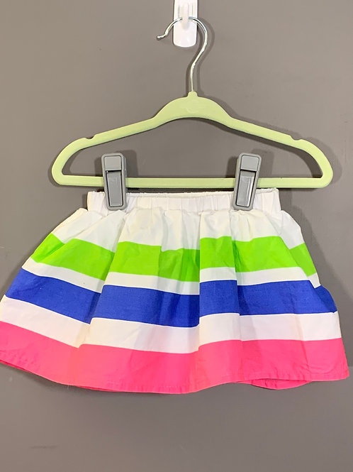 Size 12/18m CHILDREN'S PLACE Striped Skirt, Used