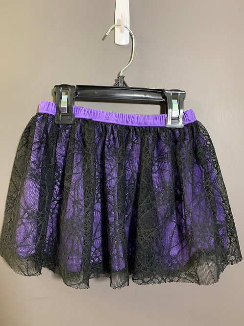 Size 24m FADED GLORY New Purple and Black Web Skirt