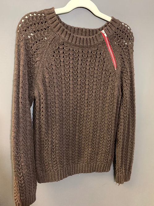 Size M 8 AMERICAN EAGLE Brown Sweater