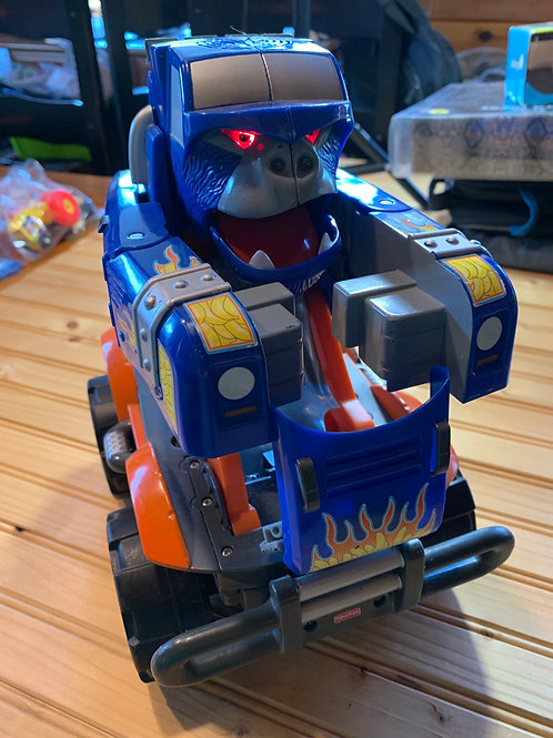 FISHER PRICE Ape Monster Truck