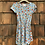 Size 2T LULAROE Blue Dress with Flowers