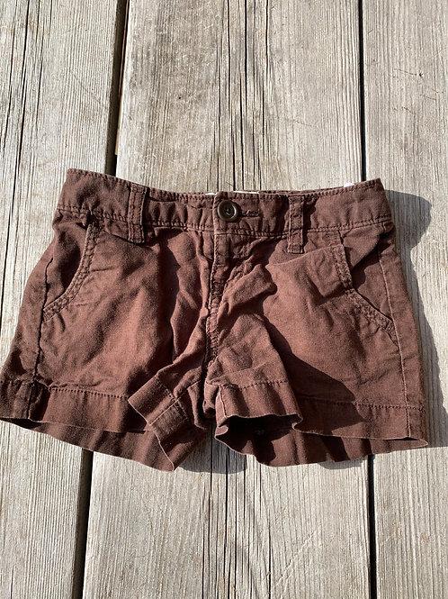 Size 7 Brown Cotton Shorts