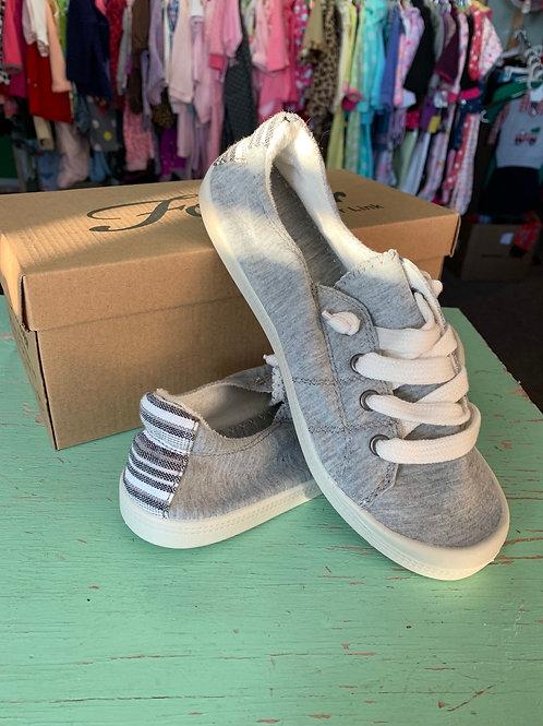 Size 6 FOREVER Light Grey Comfort Slip On Shoe