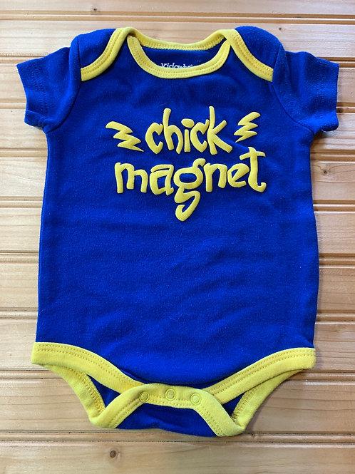 Size 0-3m Chick Magnet Onesie