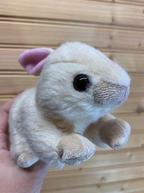 TY Little Brown Bunny Stuffed Animal, Used