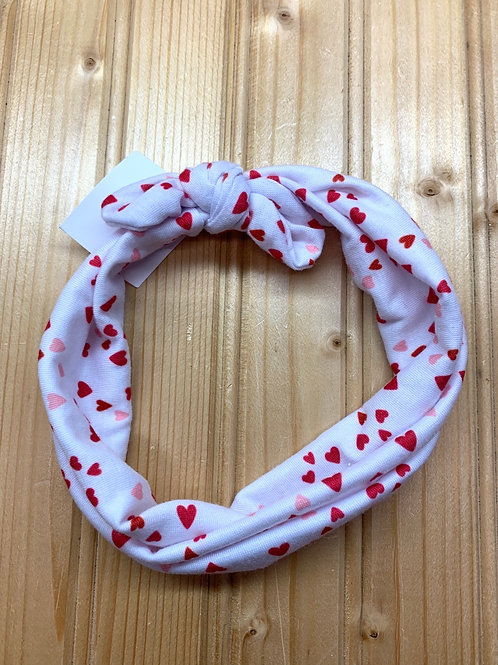 Infant Headband with Hearts