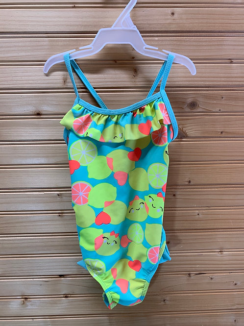 Size 4T WONDERKIDS Happy Citrus Swimsuit, Used