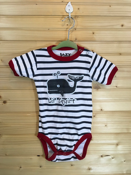 Size 18m LAZY ONE Maine Blow Out Whale Onesie