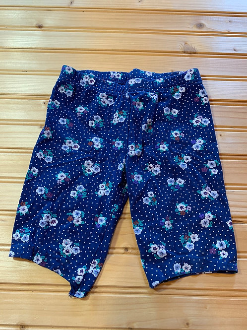 Size 6x Floral Legging Shorts, Used