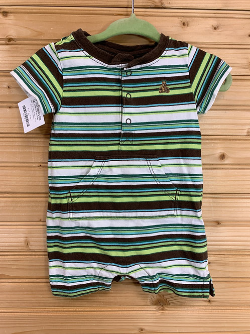 Size 0-3m GAP Striped Polo Jumper, Used