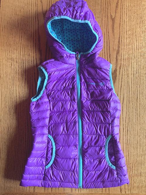 Size 7/8 Purple Puff Vest