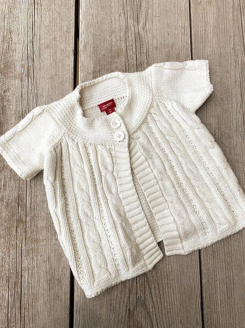 Size 4T ARIZONA White Knit Sweater