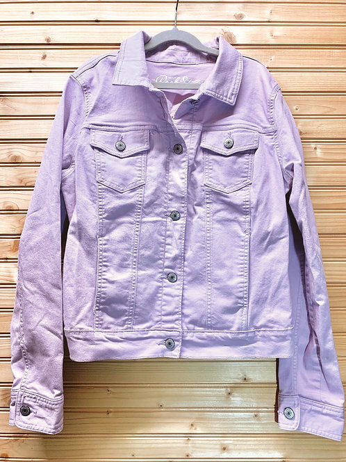 Size M OLD NAVY Lavender Jean Jacket, Used