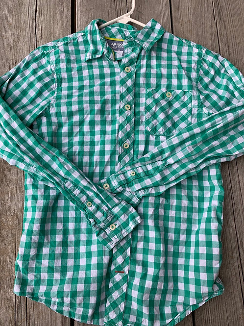 Size 14/16 ARIZONA Green Check Shirt
