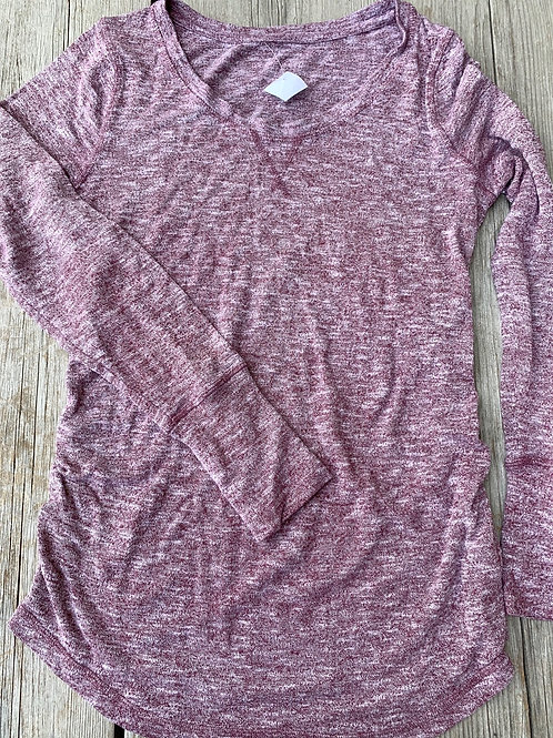 Size S Maternity LIZ LANGE Pinkish Grey Shirt