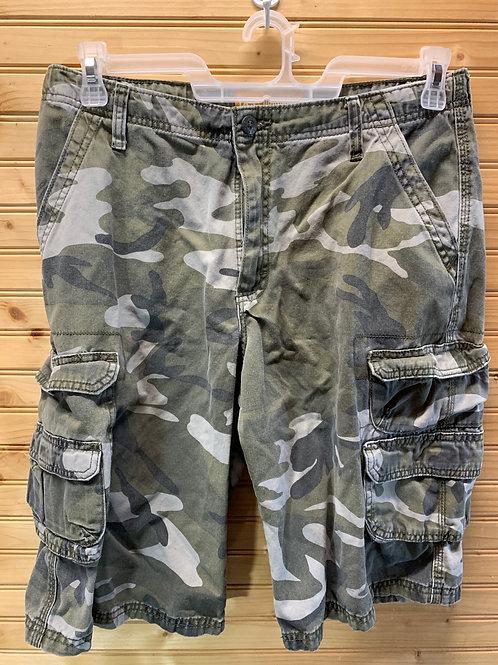 Size 18 Husky LEE Camo Shorts