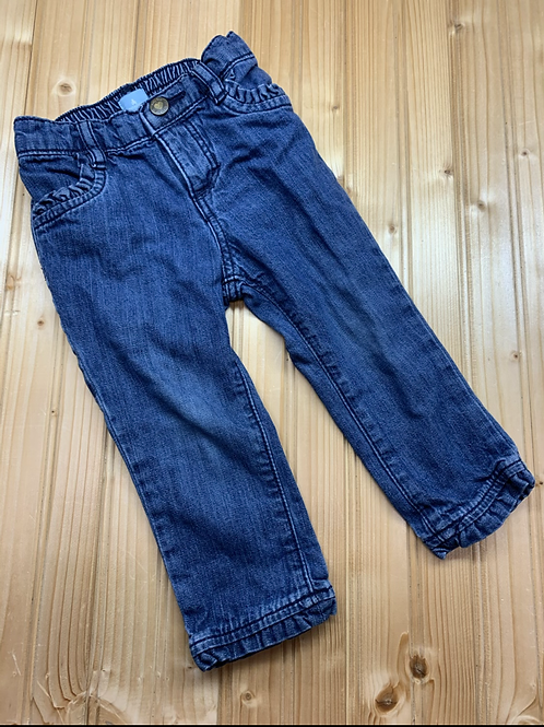 Size 18-24m BABY GAP Jeans with Ruffle